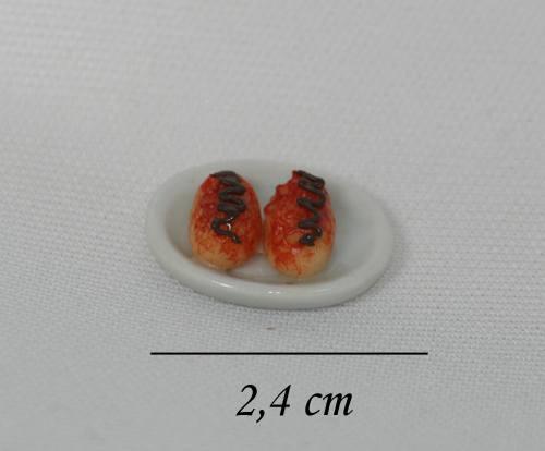 Sm2006 - Plato con dulces con chocolate