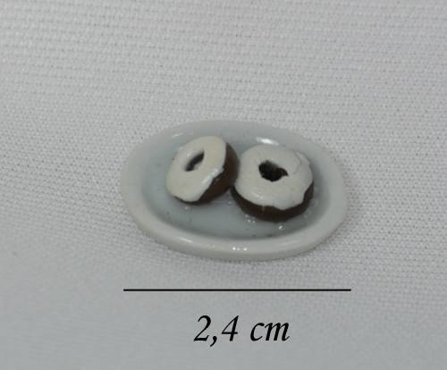 Sm2023 - Plato de donuts de chocolate
