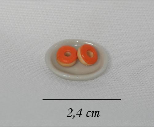 Sm2032 - Plato de donuts con crema