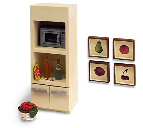 Al11232 - Modern Shelving and Tables