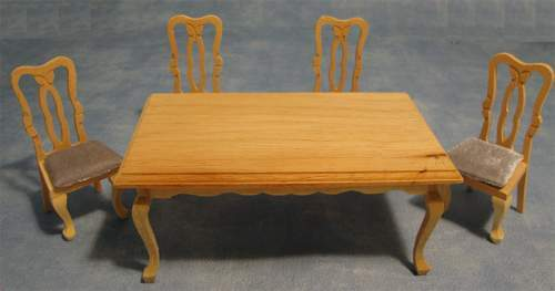 Mb0210 - Conjunto mesa y sillas
