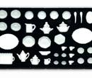 Ch37110 - 40 piece white dish set