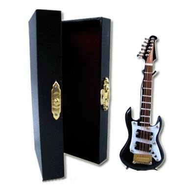 Tc1764 - Guitarra eléctrica negra