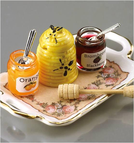 Re17385 - Mermelada y miel