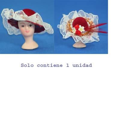 Re17595 - Sombrero rojo