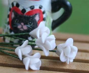 Tc0062 - Flores blancas