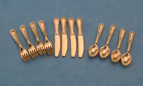 Tc0107 - Golden Cutlery