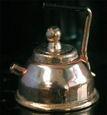 Tc0137 - Cafetera color cobre