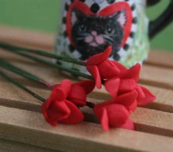 Tc0144 - Flores rojas