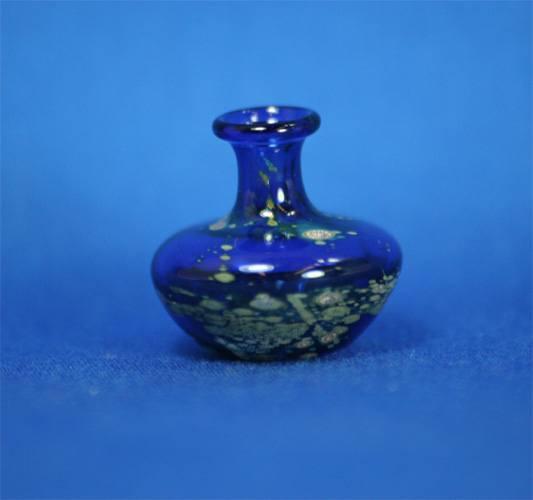 Tc0328 - Jarron decoración azul