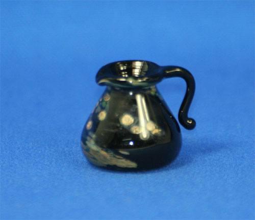 Tc0368 - Jarra decoracion negra