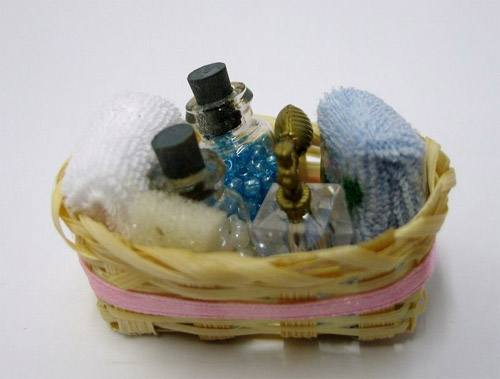 Tc0455 - Cesta con perfume