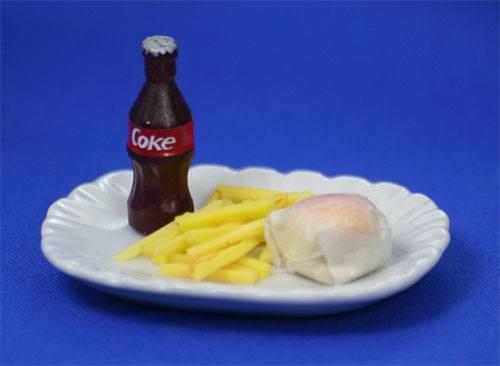 Tc0747 - Hamburguesa con patatas
