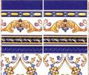Wm34304 - Papel azulejos decorados