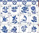 Wm34433 - Papel azulejos decorados 33