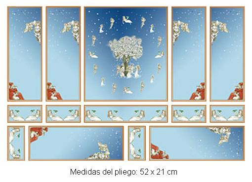 Wm34801 - Papel serie oro
