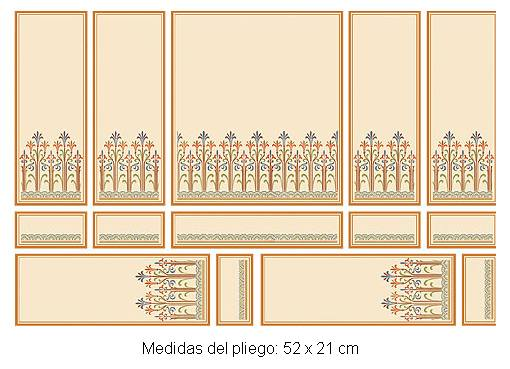 Wm34803 - Papel serie oro