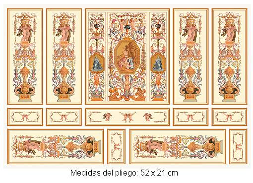 Wm34805 - Papel serie oro