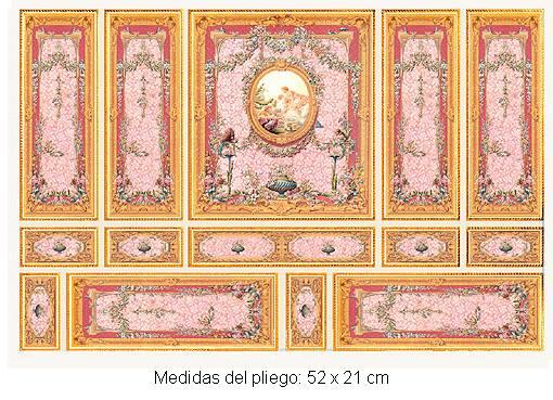 Wm34807 - Carta serie oro
