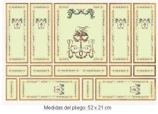 Wm34809 - Papel serie oro