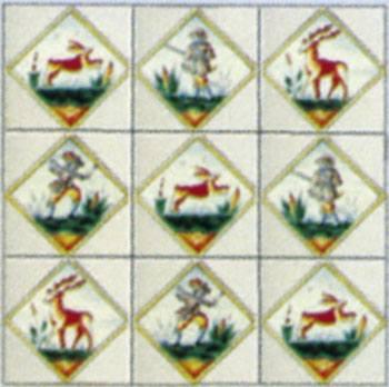 Wm34875 - Cuadro ceramico n75