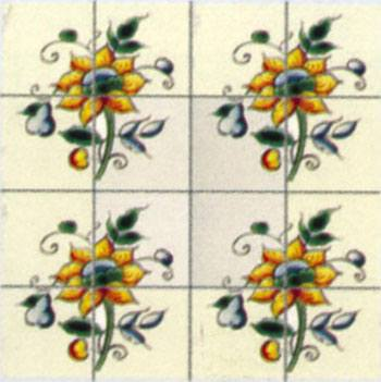 Wm34880 - Cuadro ceramico n80