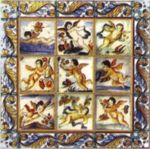Wm34888 - Cuadro ceramico