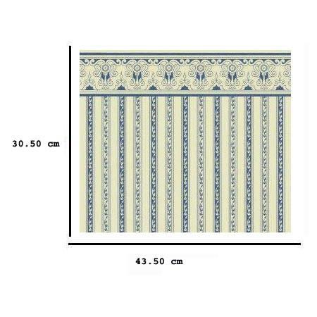 JH01 - Carta a strisce blu
