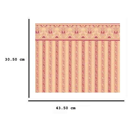 Jh04 - Carta a strisce rosa