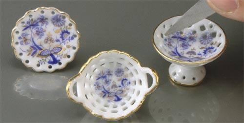 Re14348 - Tres piezas de porcelana