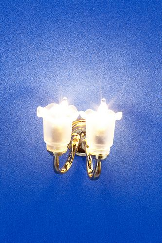 Lp0003 - Wall lamp with two lights