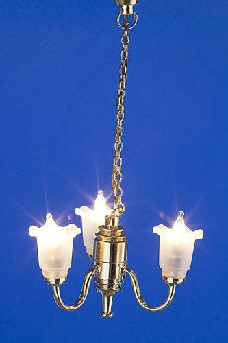 Sl3009 - Lampada tre paralumi