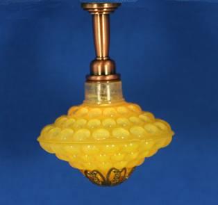 Sl3121 - Lampada da soffitto giallo