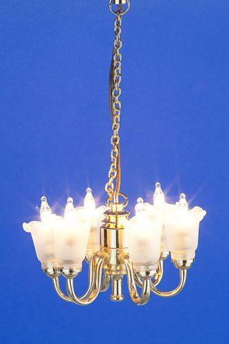 Sl3257 - Lámpara de techo 6 tulipas