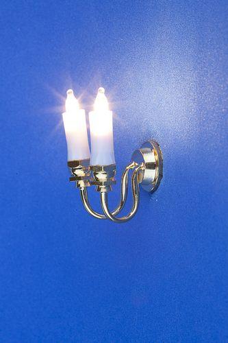 Lp0045 - Applique deux bougies