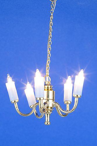 Sl3298 - Lampara 5 velas