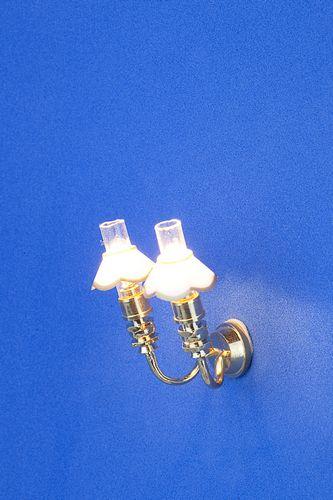 Sl3338 - Lampara 2 tulipas n38
