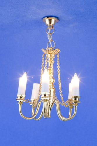 Sl3355 - Lámpara de techo 5 velas