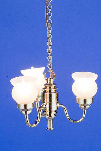 Sl3556 - Lampada da soffitto 3 paralumi