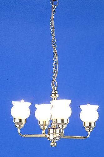 Sl3557 - Lampada da soffitto 4 paralumi