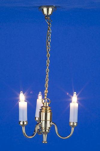 Sl3998 - Lampara de techo 3 velas n98