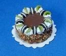 Tarta de chocolate con kiwi