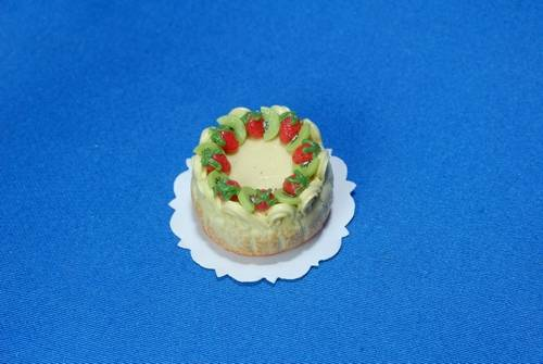 Sm0050 - Lemon cake with strawberries and kiwi