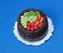 Sm0092 - Tarta de chocolate y macedonia