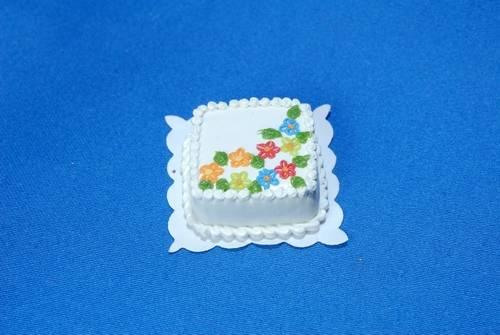 Sm0136 - Tarta cuadrada de nata