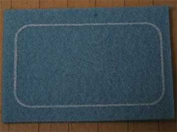 Tc0020 - Alfombrilla azul