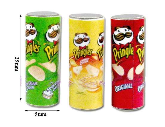 Tc0809 - Tres botes de Pringles