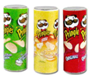 Tc0809 - Three Pringles containers