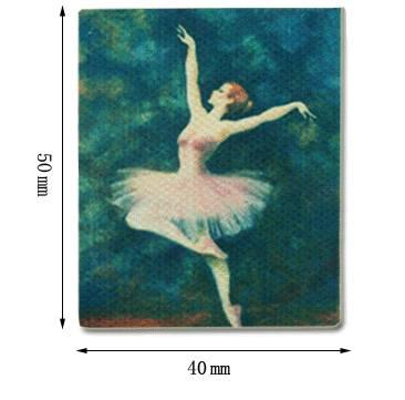 Tc0815 - Lienzo bailarina
