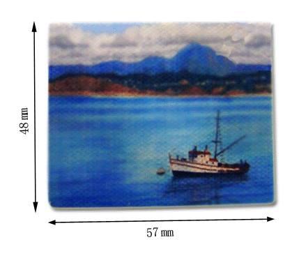 Tc0816 - Lienzo Barco pesquero